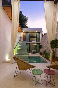 ide rumah kecil dengan kolam renang - sukabumiarsitek.id