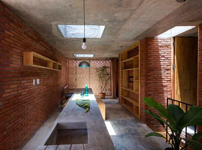 Konsep Rumah Bata Expose Arsitektur Tropis - sukabumiarsitek.id