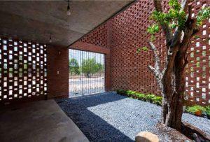 Konsep Rumah Mungil Bata Expose Arsitektur Tropis